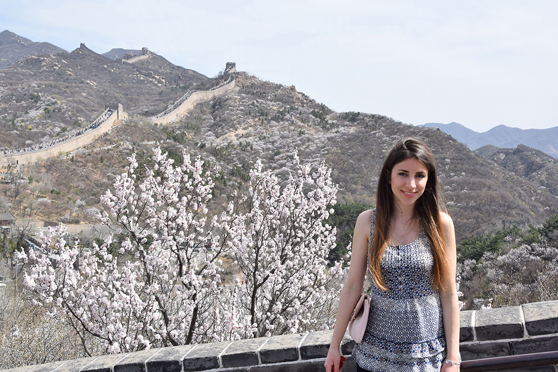 outfit on the great wall