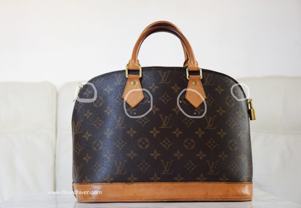 How to recognize a real Louis Vuitton - Fleur d Hiver 91a30ed25d55